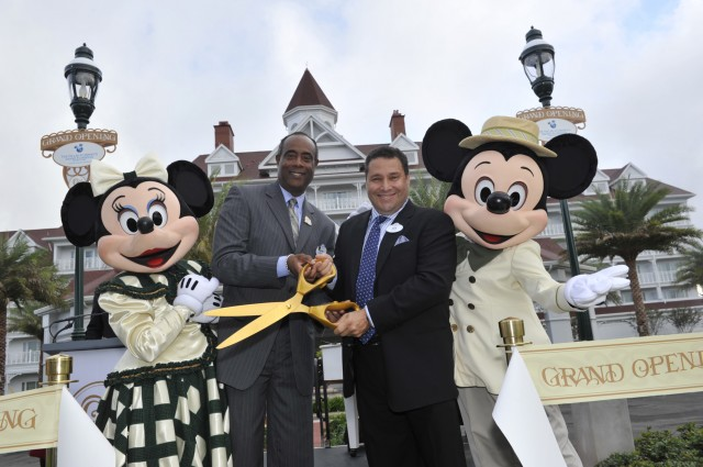Grand Floridian Villas opening
