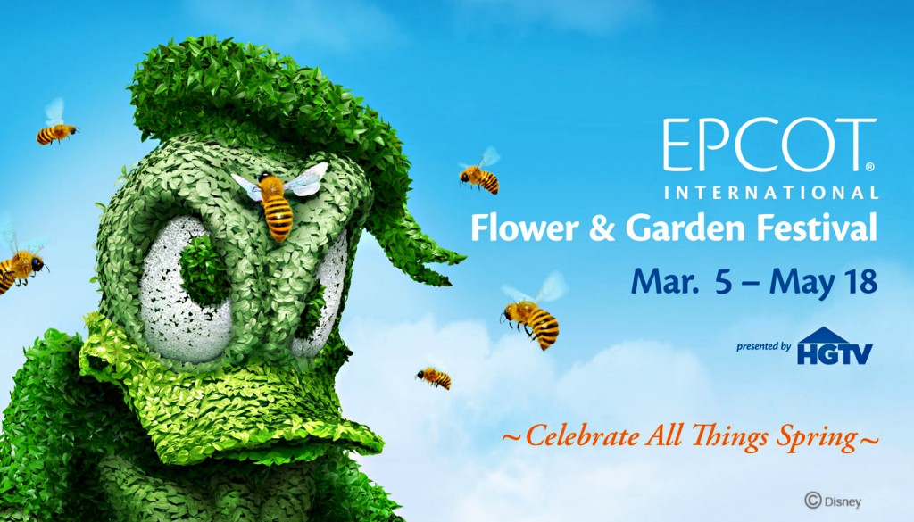 Epcot's 2014 Flower and Garden Festival