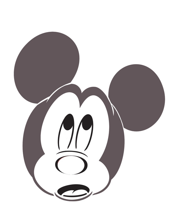 Disney pumpkin templates disney secrets for Mickey mouse vampire pumpkin template