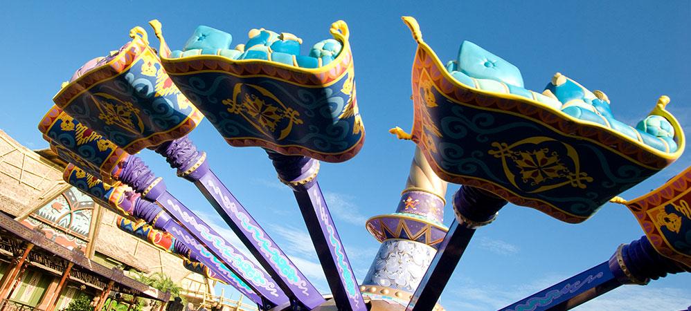 The magic carpets of aladdin disney secrets for Aladdin carpet ride magic kingdom